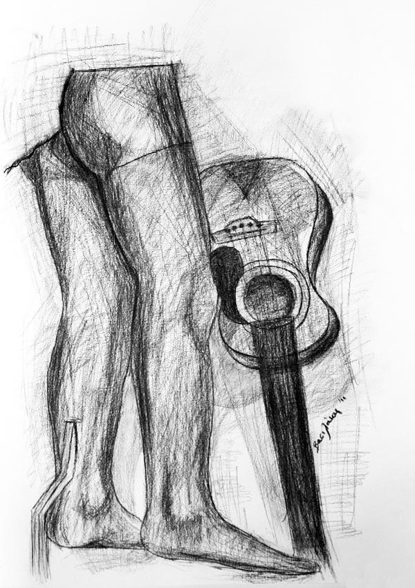 50x70 guitar